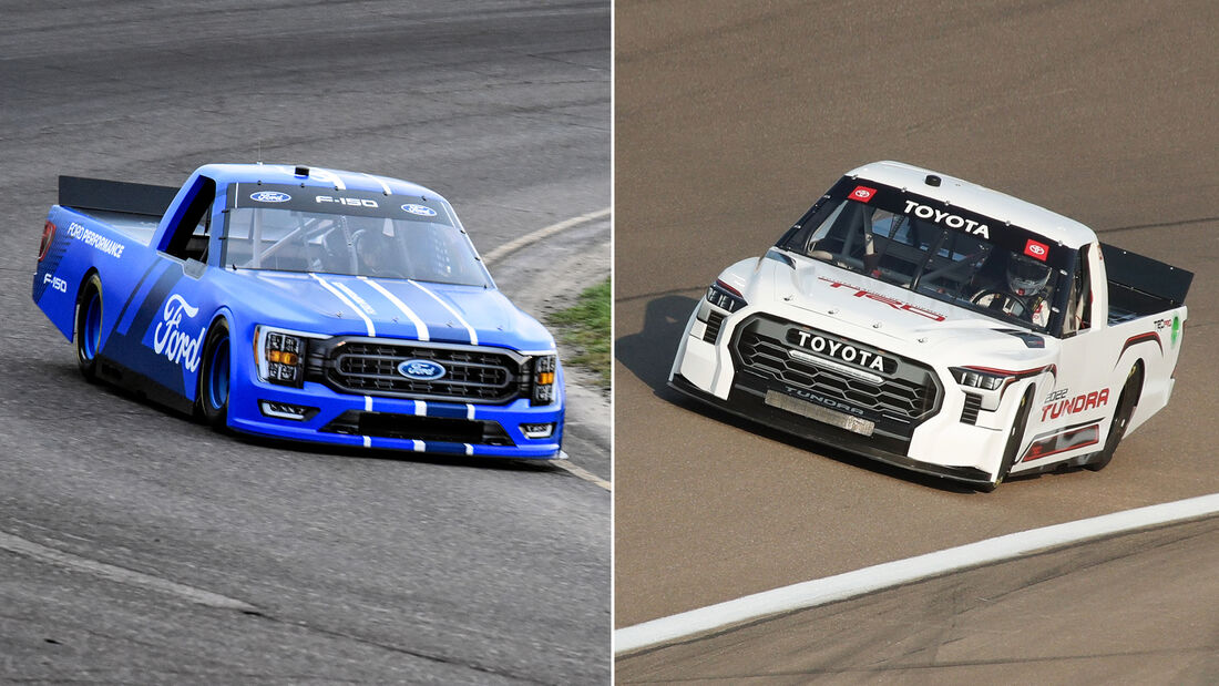 NASCAR Ford F150 / Toyota Tundra 2022