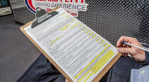 NASCAR, Fragebogen