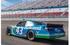 NASCAR, Heckansicht, Rennwagen