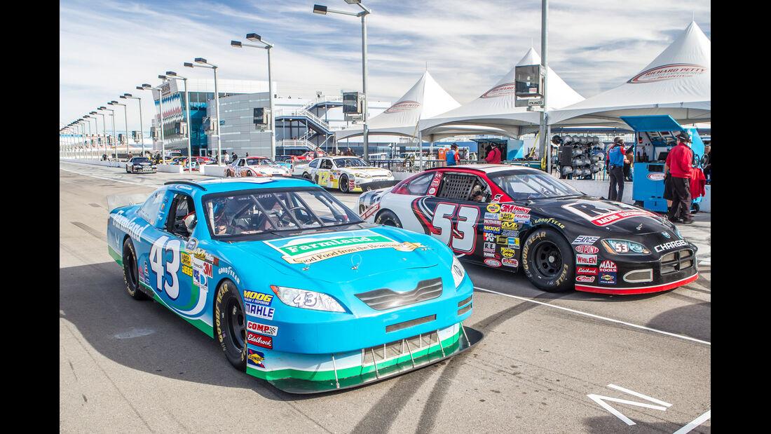 NASCAR, Rennwagen, Frontansicht