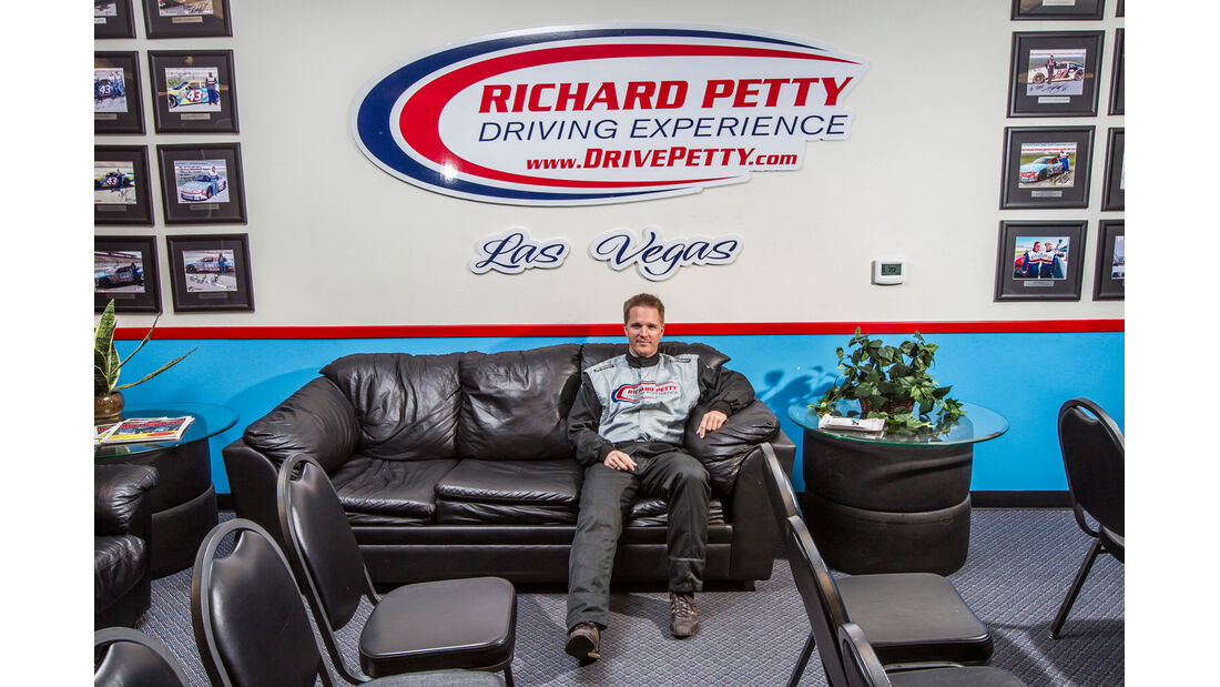 NASCAR, Richard Petty, Warteraum