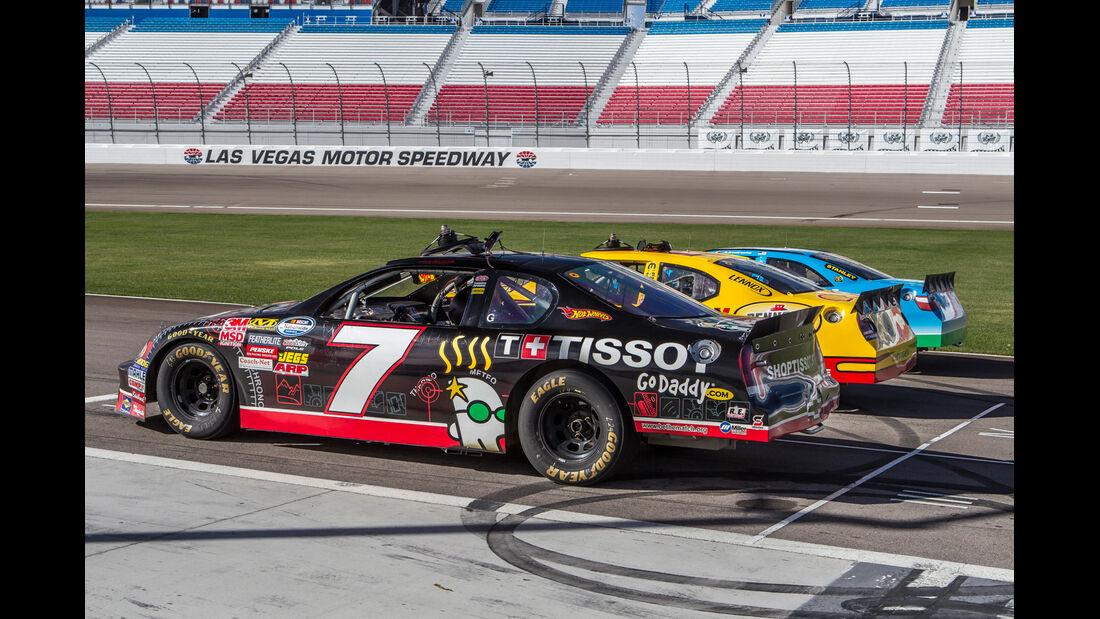 NASCAR, Seitenansicht, Rennwagen