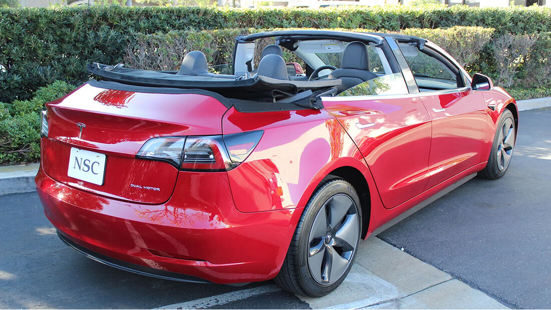 NCE Tesla Model 3 Cabrio