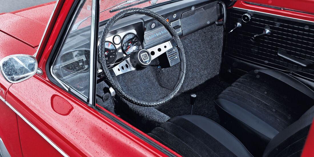 NSU 1200 TT, Cockpit