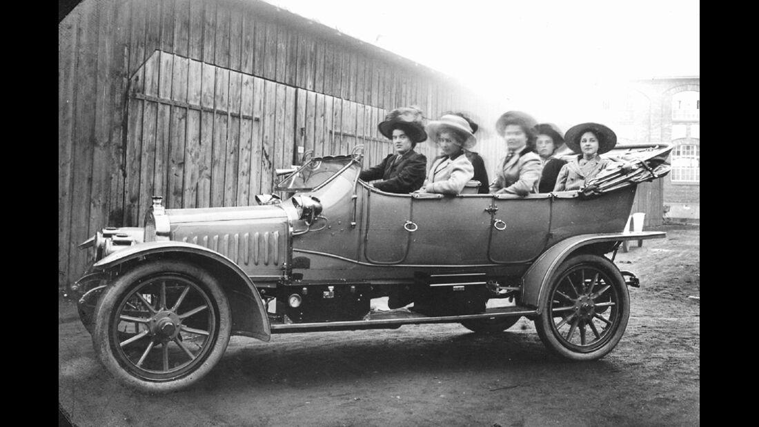 NSU 6 13 PS, 1913