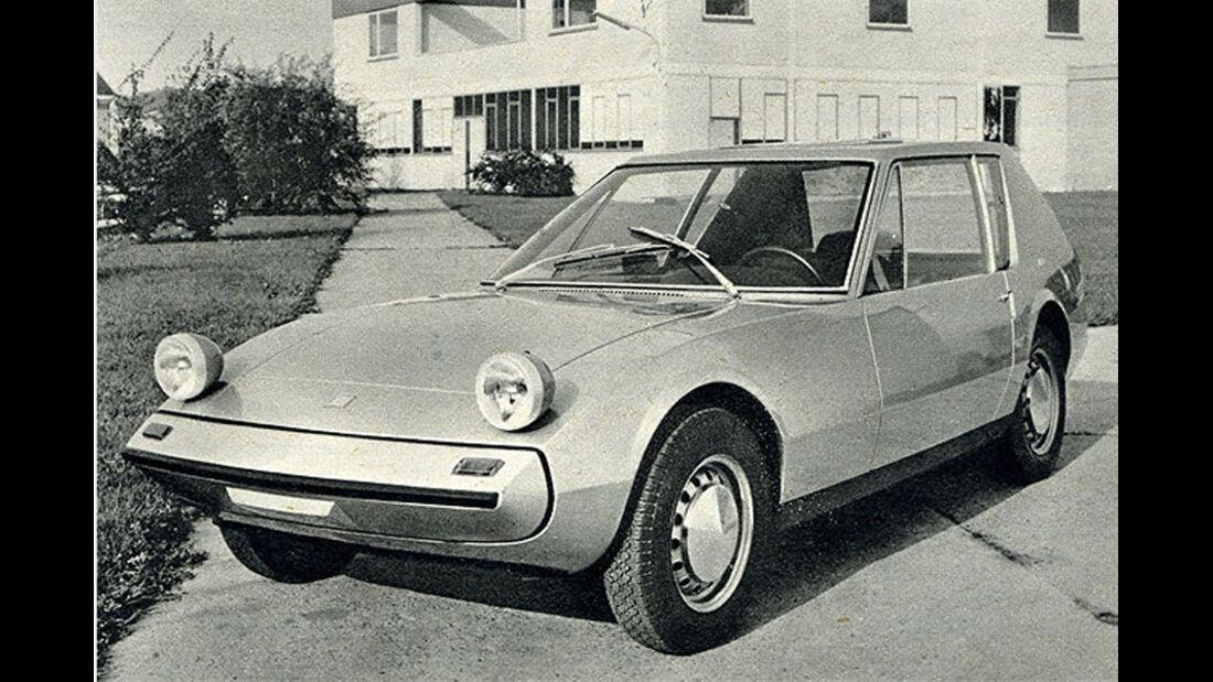 NSU, Autonova GT, IAA 1965