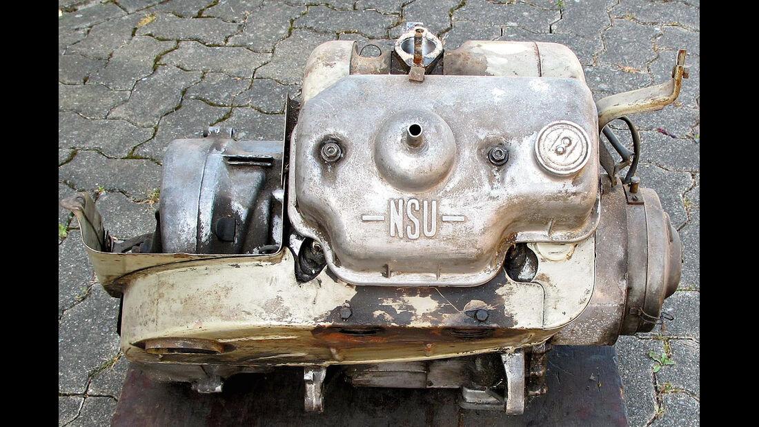 NSU Prinz, Getriebe