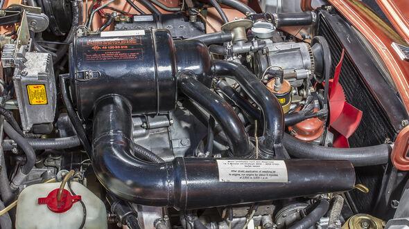 NSU RO 80, Motorraum