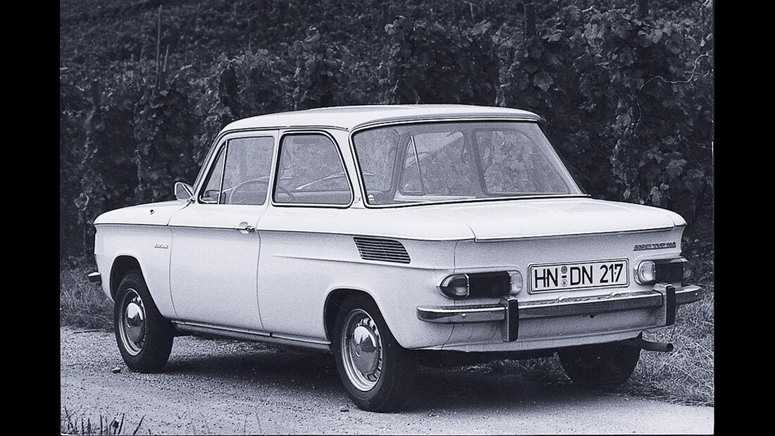 NSU Typ 110 Prinz, Heckansicht