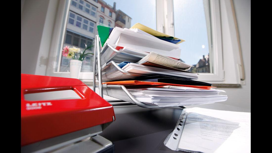 Nachverfolgung, Papierstapel