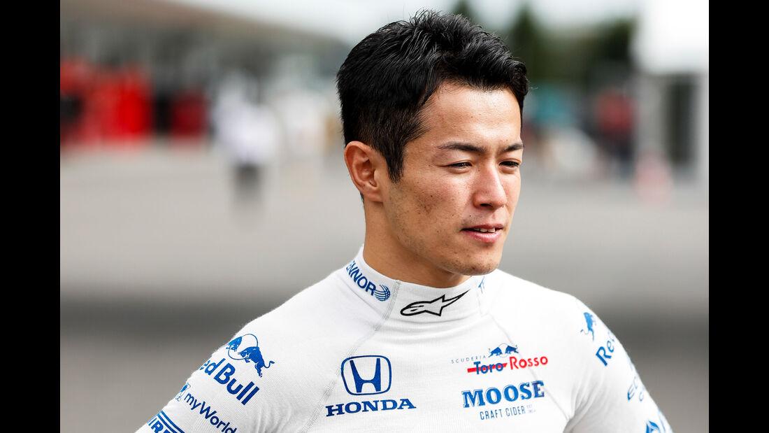 Naoki Yamamoto - Toro Rosso - Formel 1 - GP Japan - Suzuka - 10. Oktober 2019