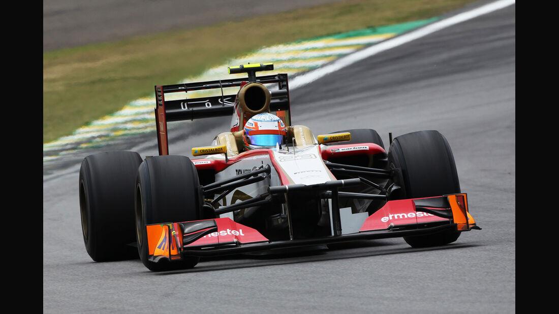 Narain Karthikeyan Formel 1 GP Brasilien 2012
