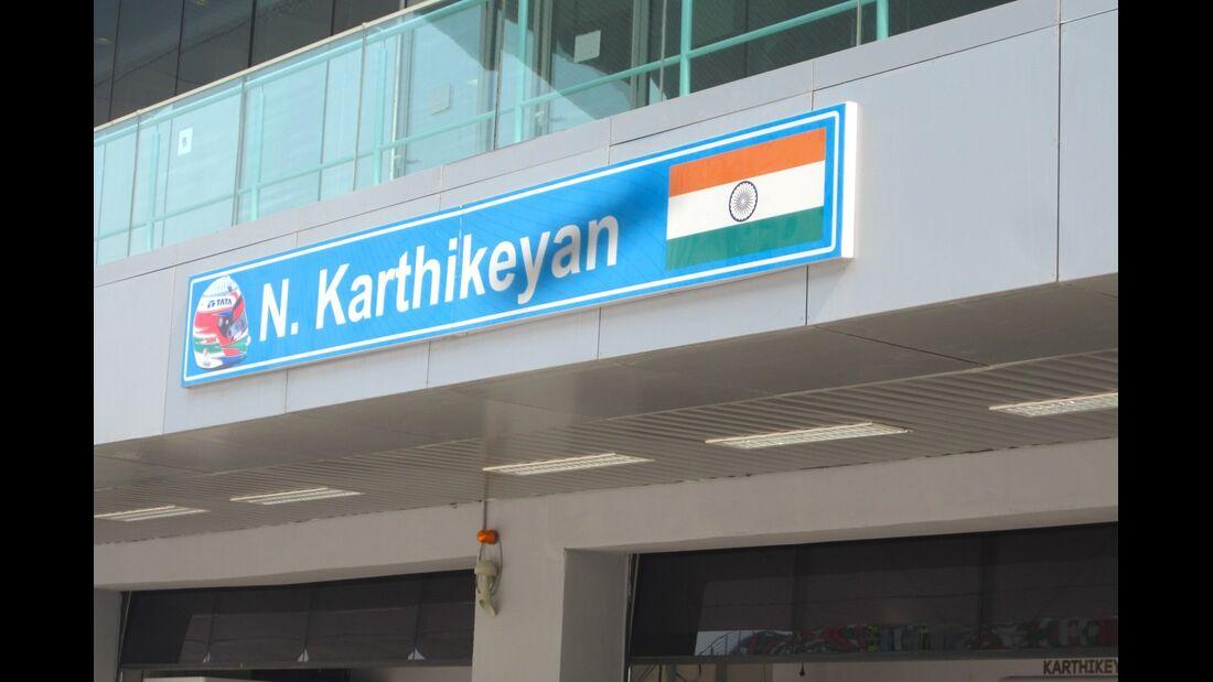 Narain Karthikeyan  - Formel 1 - GP Indien - 25. Oktober 2012