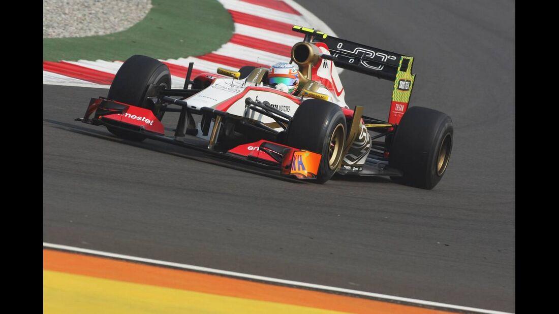 Narain Karthikeyan - Formel 1 - GP Indien - 26. Oktober 2012