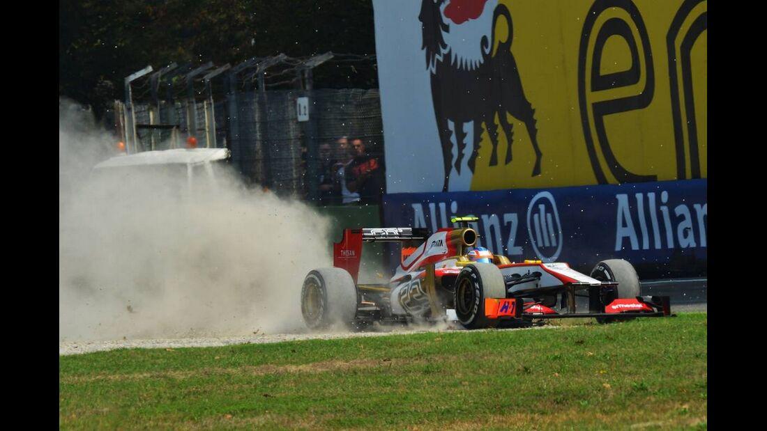 Narain Karthikeyan - Formel 1 - GP Italien - 08. September 2012