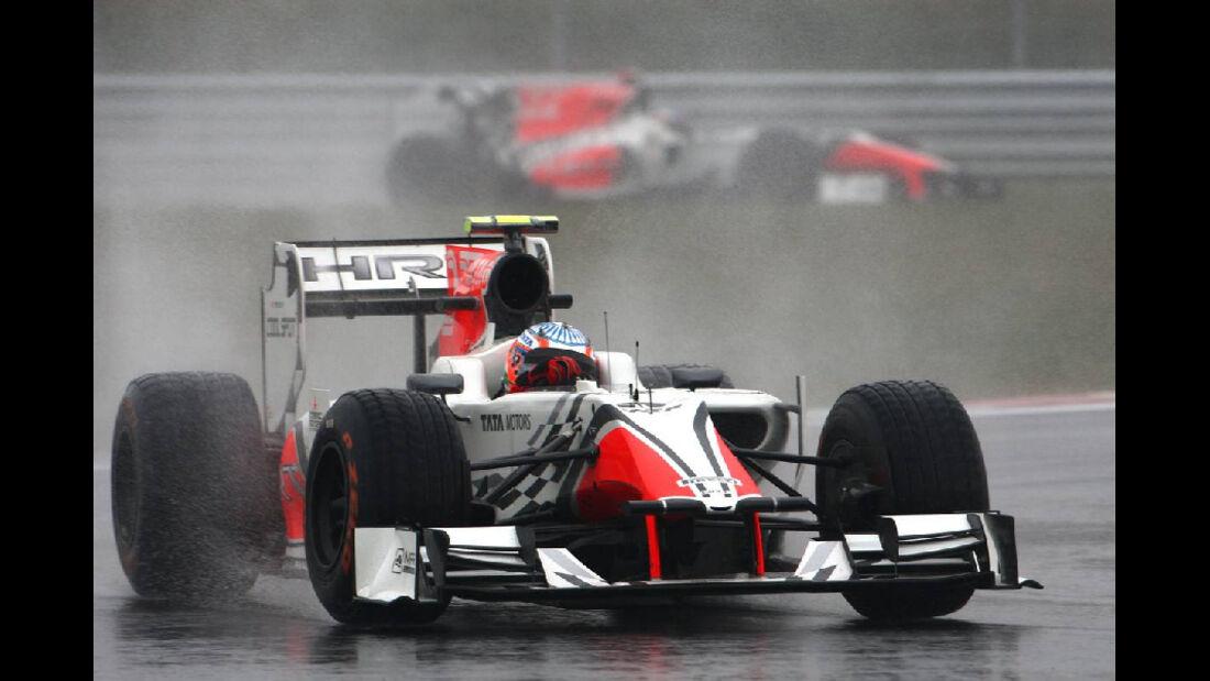 Narain Karthikeyan - Formel 1 - GP Korea - 14. Oktober 2011