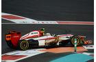 Narain Karthikeyan GP Abu Dhabi 2012