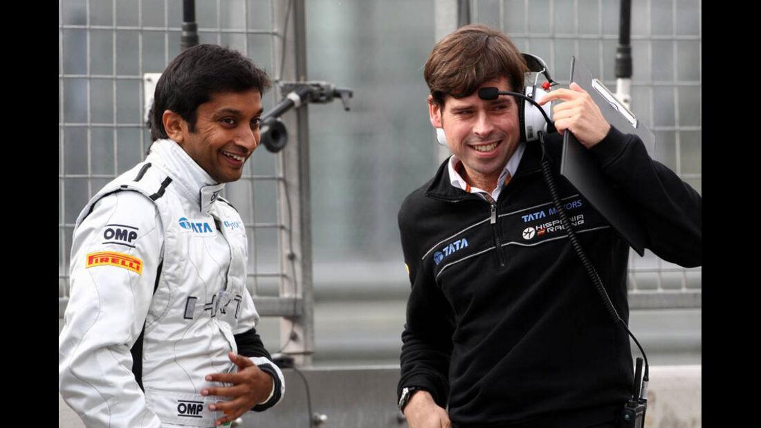 Narain Karthikeyan - GP Deutschland - Nürburgring - 22. Juli 2011