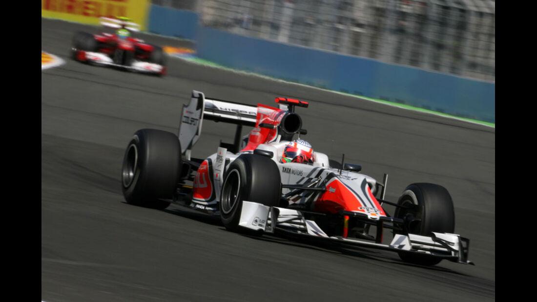 Narain Karthikeyan - GP Europa - Qualifying - 25. Juni 2011