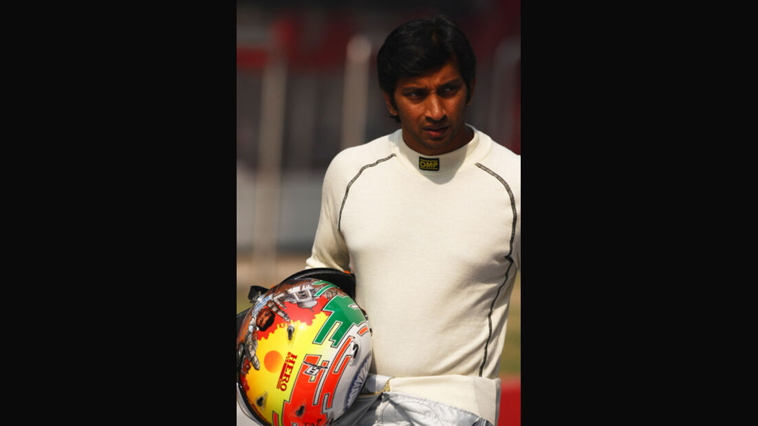 Narain Karthikeyan - GP Indien - Delhi - 29.10.2011
