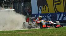 Narain Karthikeyan GP Italien 2012