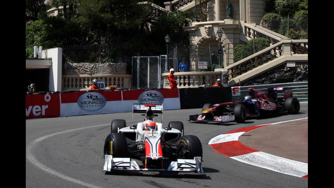 Narain Karthikeyan GP Monaco 2011