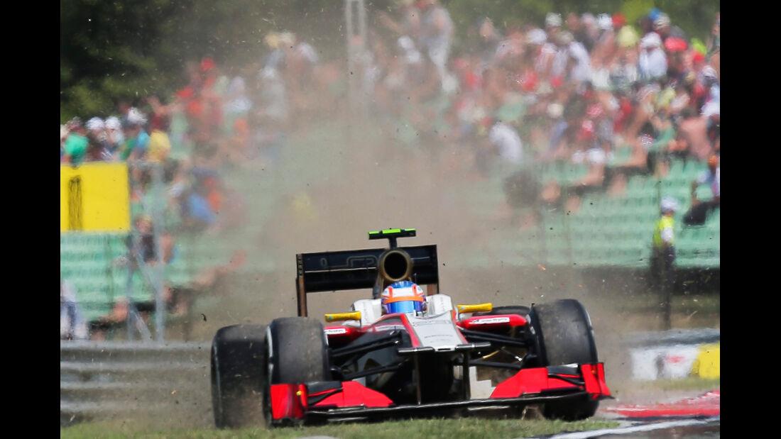 Narain Karthikeyan GP Ungarn 2012