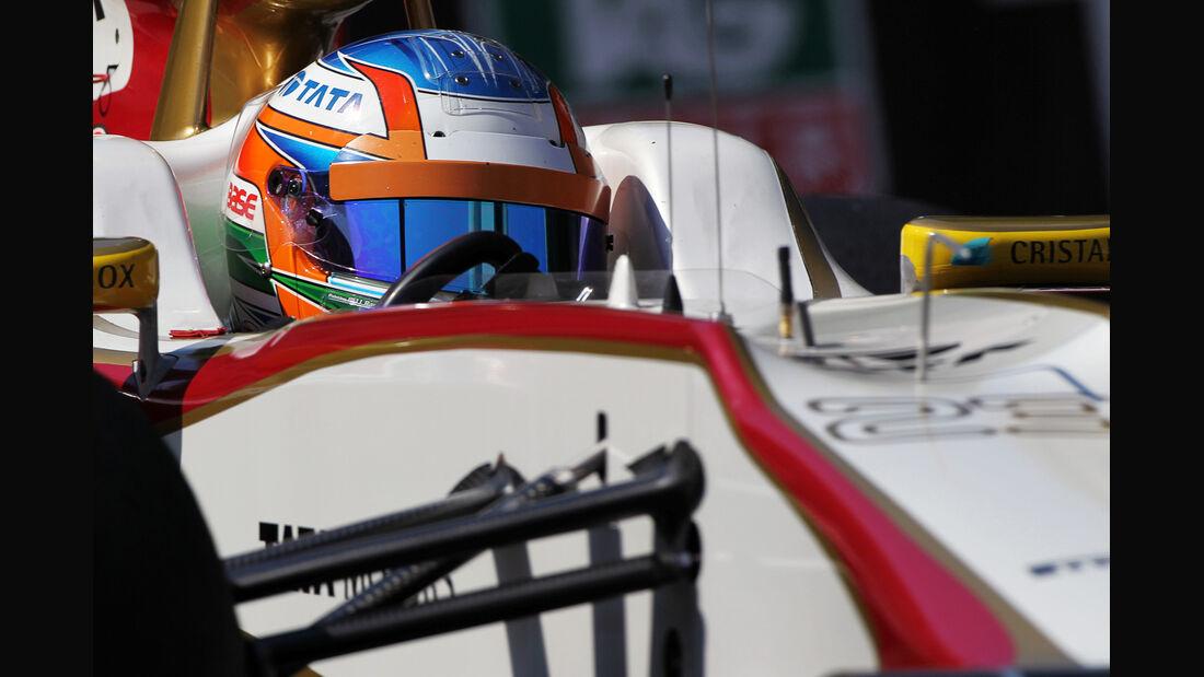 Narain Karthikeyan - HRT - Formel 1 - GP Monaco - 24. Mai 2012