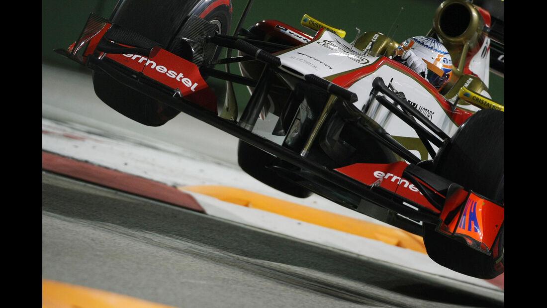 Narain Karthikeyan - HRT - Formel 1 - GP Singapur - 21. September 2012