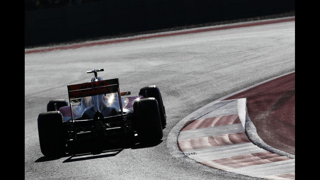 Narain Karthikeyan - HRT - Formel 1 - GP USA - Austin - 17. November 2012