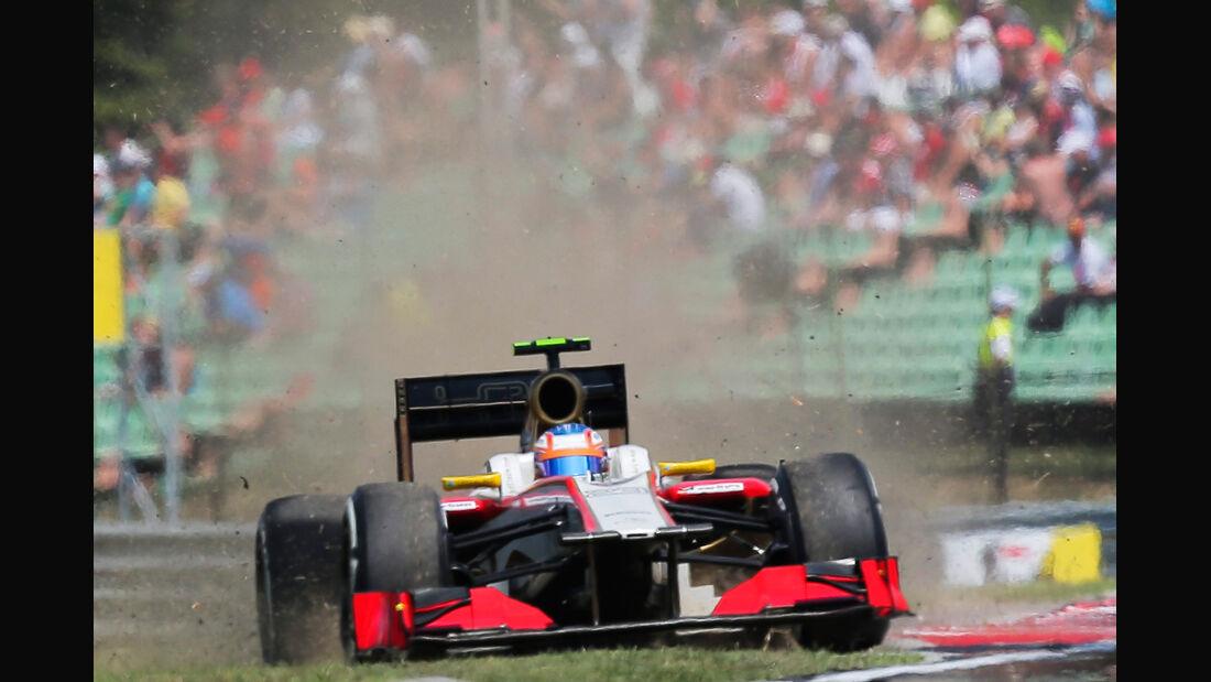 Narain Karthikeyan - HRT - Formel 1 - GP Ungarn - Budapest - 28. Juli 2012