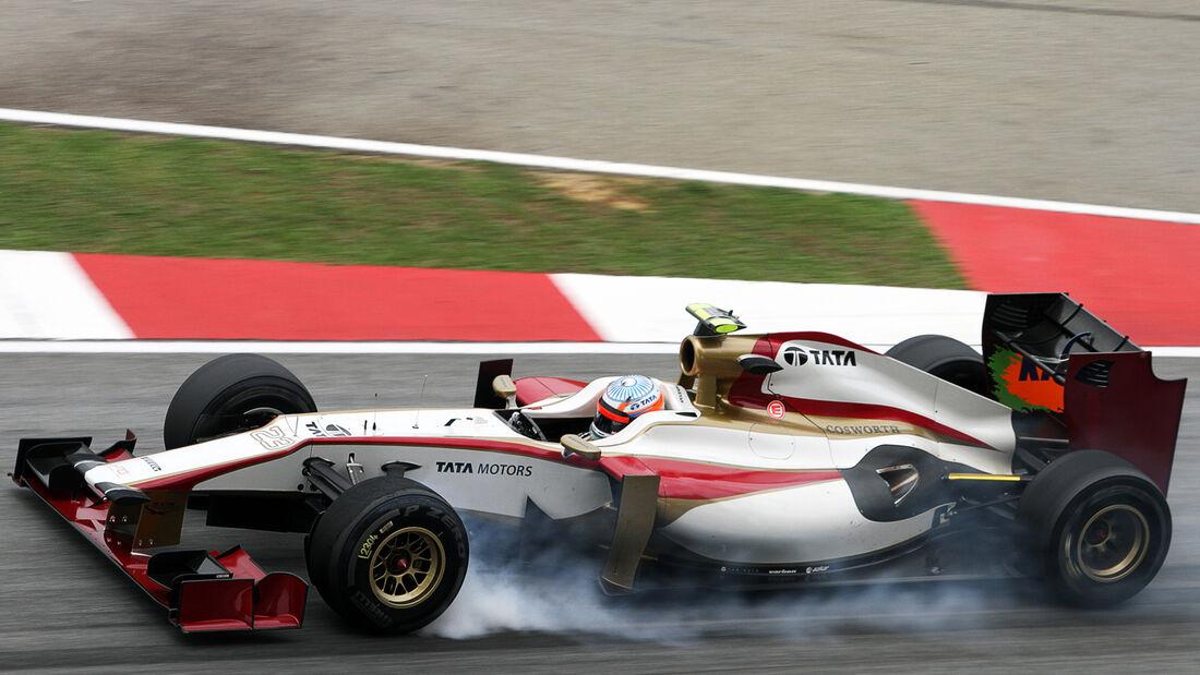 Narain Karthikeyan - HRT - GP Malaysia 2012