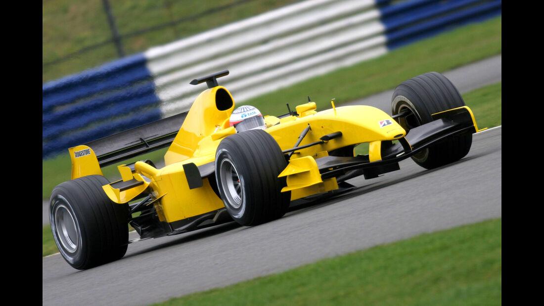Narain Karthikeyan - Jordan - Test - Silverstone - 2005