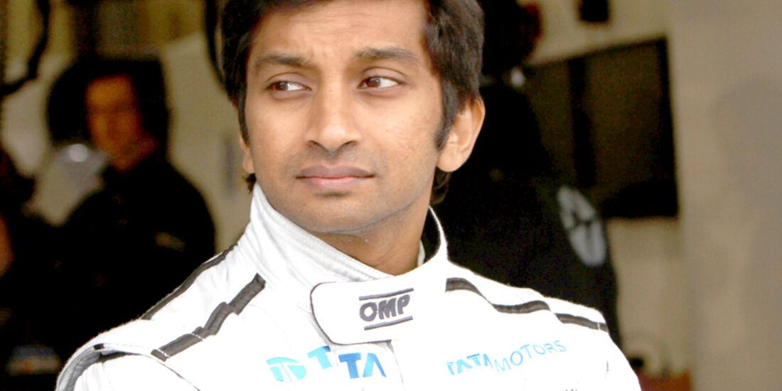 Narain Karthikeyan Porträt 2012