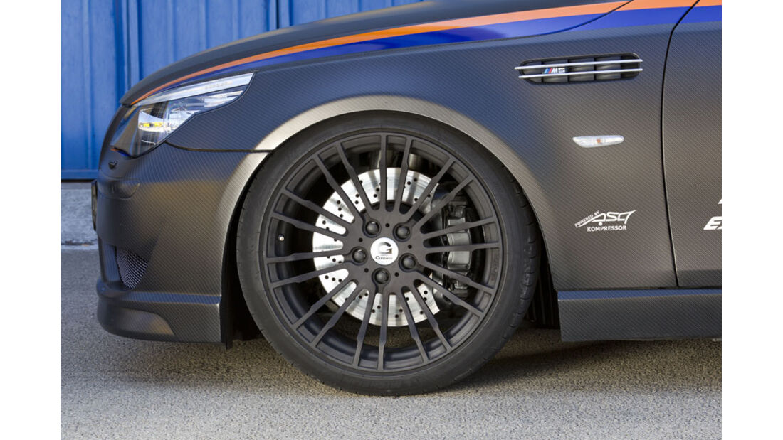Nardo 2010 Tuning-Modelle, G-Power BMW M5, Reifen, Felge