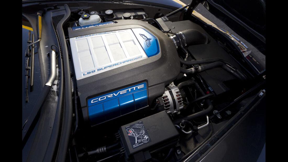 Nardo 2010 Tuning-Modelle, Geiger Corvette ZR1, Motor