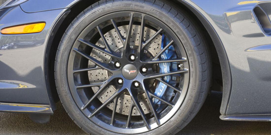 Nardo 2010 Tuning-Modelle, Geiger Corvette ZR1, Reifen, Felge