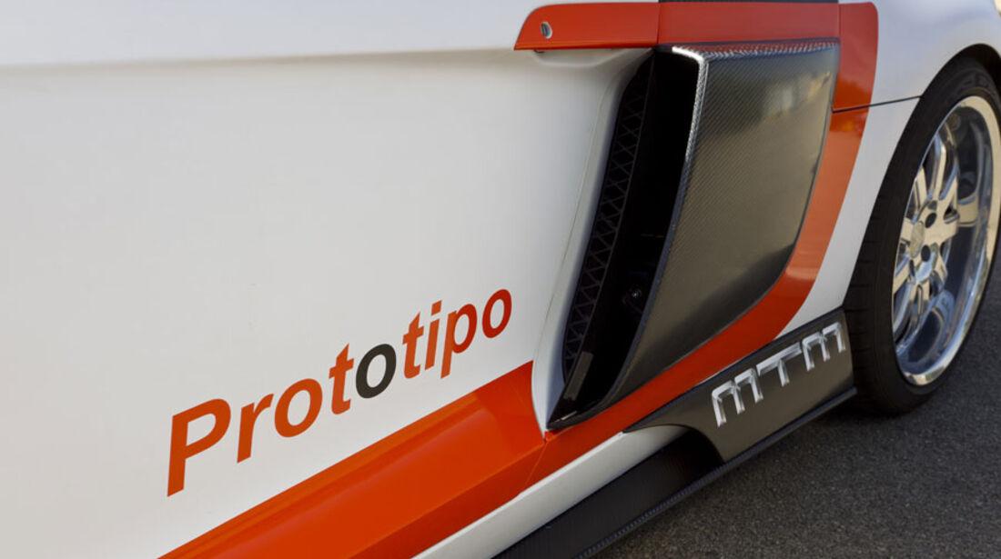 Nardo 2010 Tuning-Modelle, MTM Audi R8, Lufteinlass