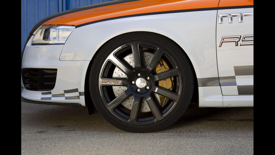 Nardo 2010 Tuning-Modelle, MTM Audi RS6, Reifen, Felge