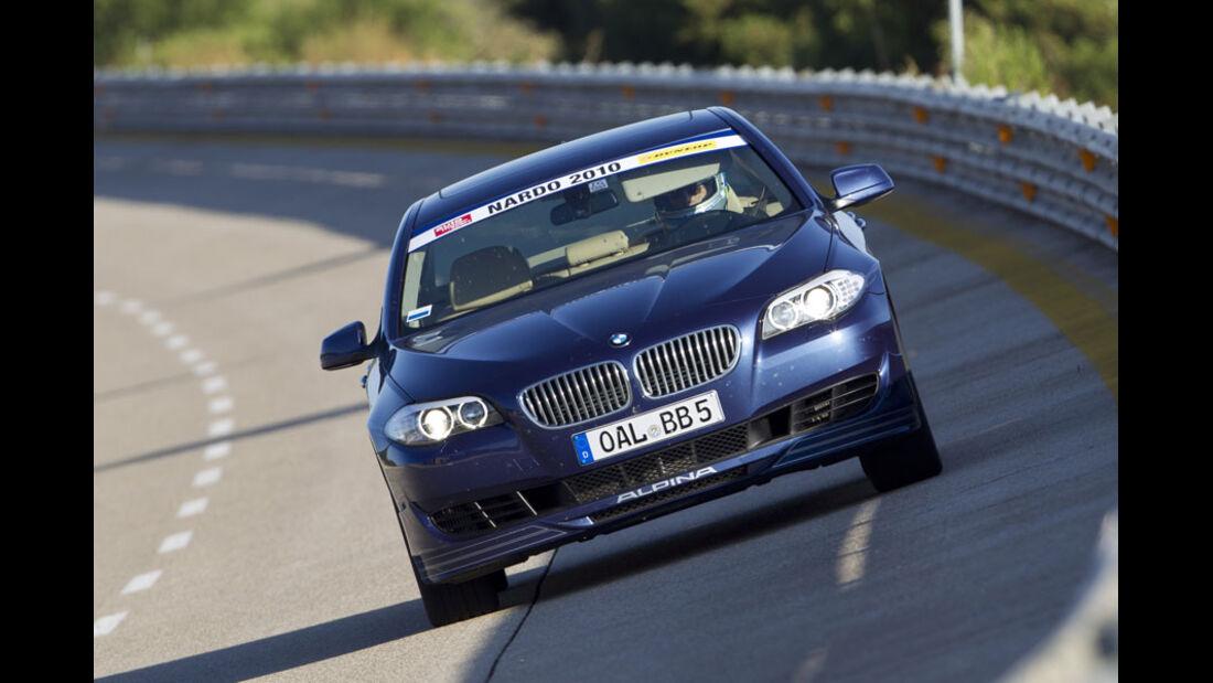 Nardo Highspeed-Test 2010, BMW Alpina B5