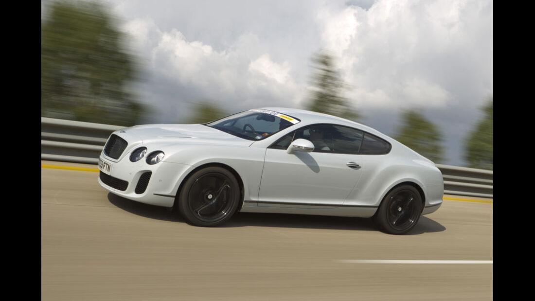 Nardo Highspeed-Test 2010, Bentley Continental Supersports