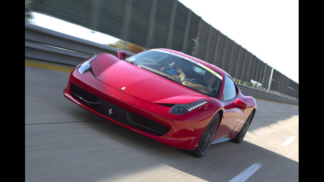 Nardo Highspeed-Test 2010, Ferrari 458 Italia