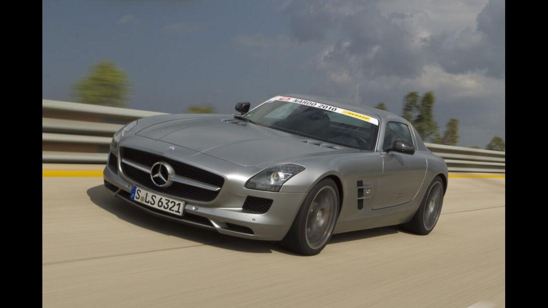 Nardo Highspeed-Test 2010, Mercedes SLS AMG