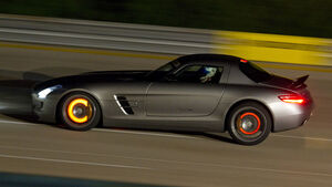 Nardo Highspeed-Test 2010, Mercedes SLS AMG