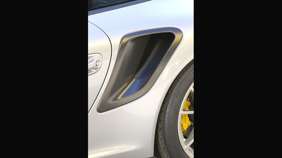 Nardo Highspeed-Test 2010, Porsche 911 GT2 RS, Luftschacht