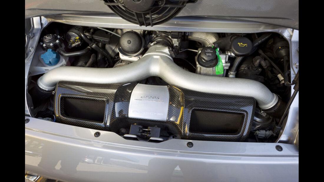 Nardo Highspeed-Test 2010, Porsche 911 GT2 RS, Motor