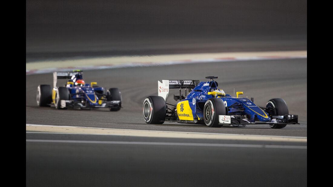 Nasr & Ericsson - Sauber - Formel 1 - GP Bahrain 2015