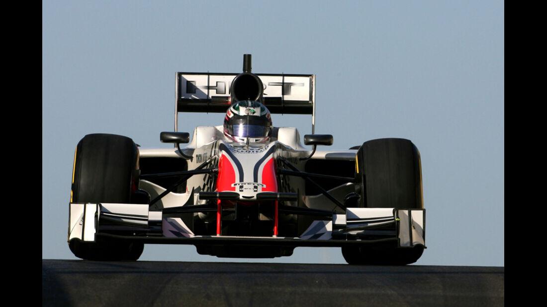 Nathanael Berthon - HRT - Young Driver Test - Abu Dhabi - 17.11.2011