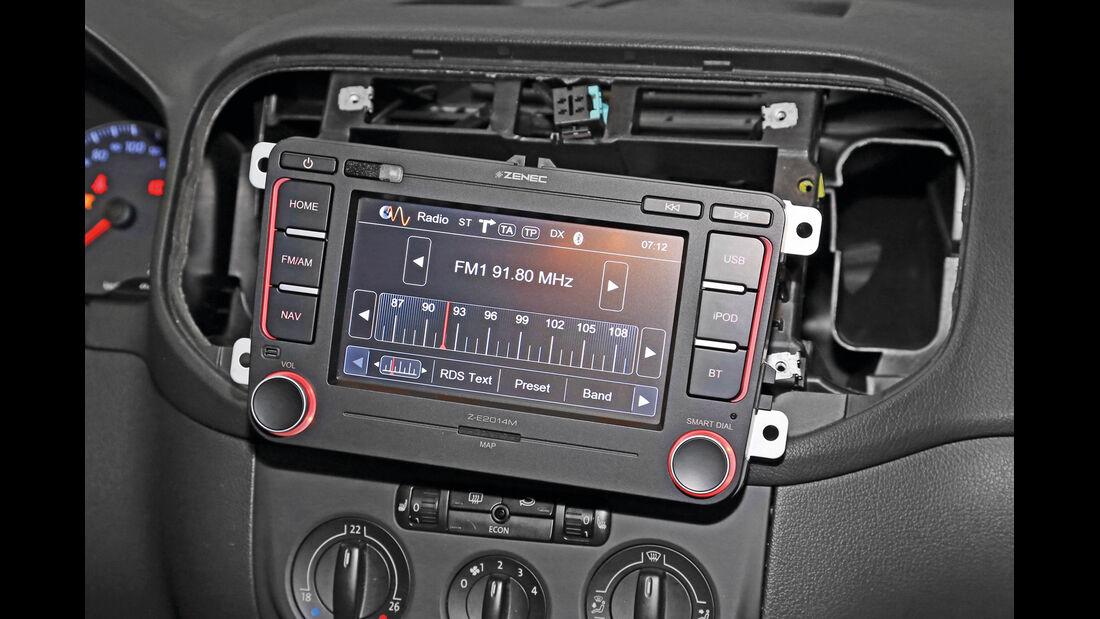 Navigationsradio einbauen, Funktions-Check