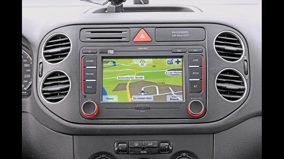 Navigationsradio einbauen, Navi, Karte